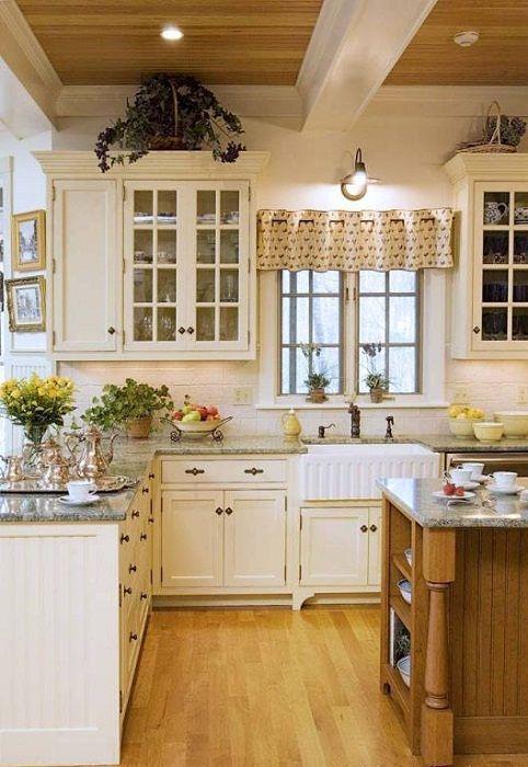 Уютна атмосфера в кухнята, която ще бъде богиня.