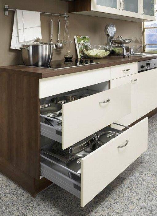 Модерно дизайнерско мнение за трансформацията на кухненския интериор.