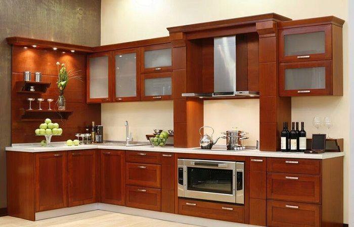Кухненски интериор в модерен стил, който ще зарадва повече от един ден.