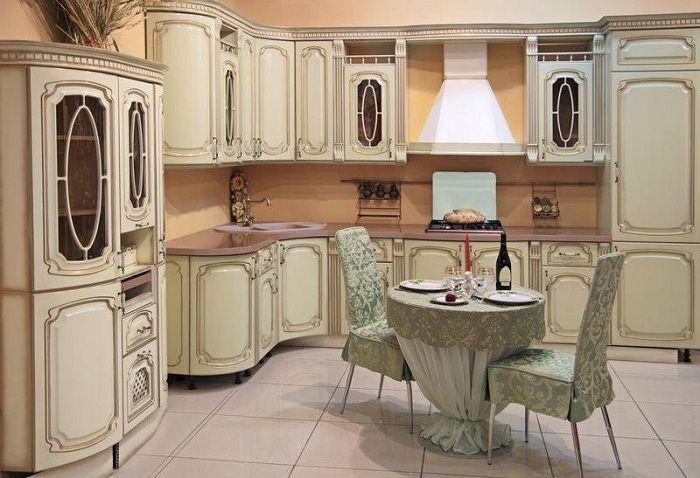 Модерните кухненски шкафове ще създадат невероятен интериор.
