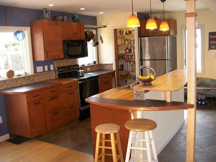 Готини дизайнерски решения за кухнята.