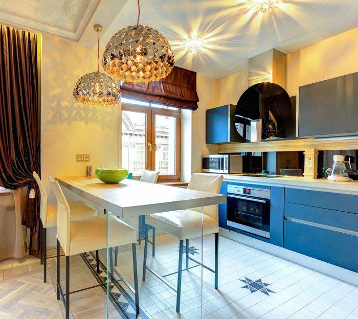 Създайте модерен кухненски интериор, какво може да бъде още по-добре.