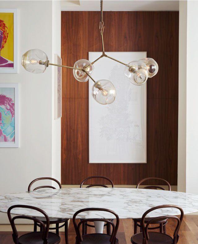Стильные подвесные светильники в интерьере - Фото 8