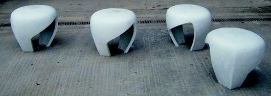 Коллекция уличных стульев с подсветкой