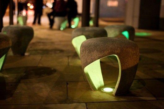 Креативные стулья с подсветкой