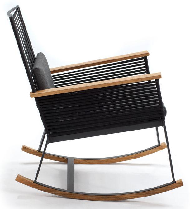 Кресло-качалка Landscape из дерева