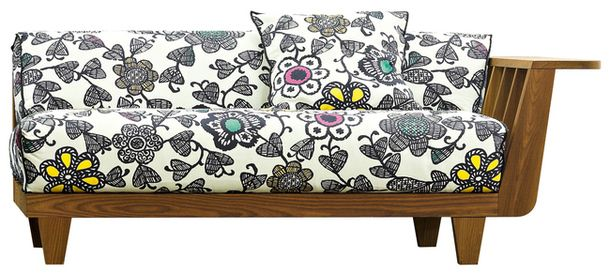 Деревянный диван из набора InOut