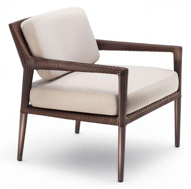 Кресло Tribeca из дерева и волокна