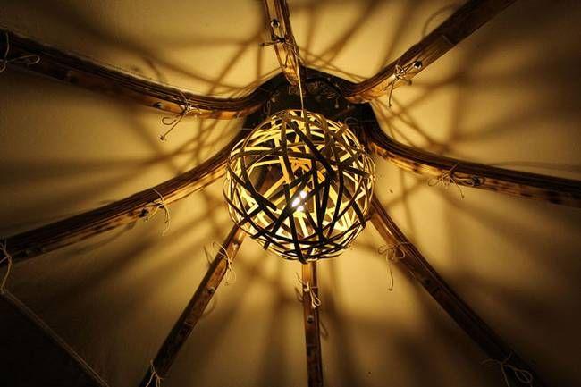 Свет в палатке в форме луковой головки - Фото 5
