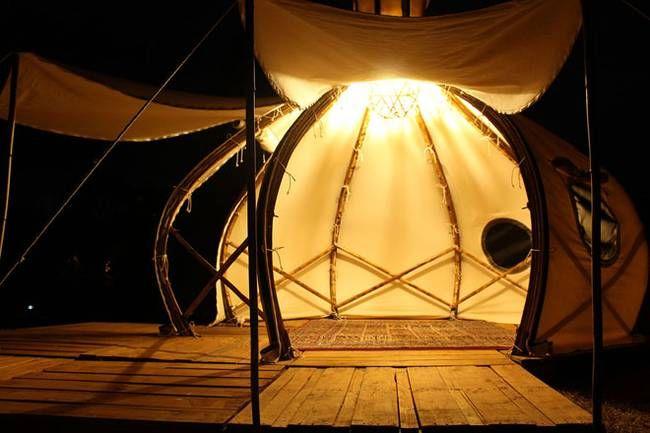 Свет в палатке в форме луковой головки - Фото 6