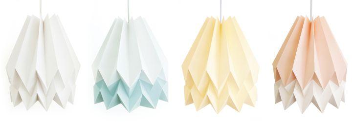 Уникальные бумажные светильники Orikomi
