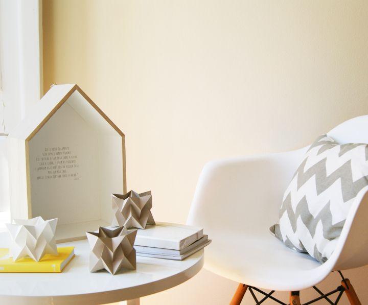 Красивые миниатюрные бумажные светильники Orikomi