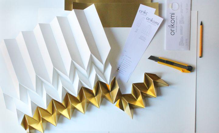 Бумага для изготовления светильников Orikomi