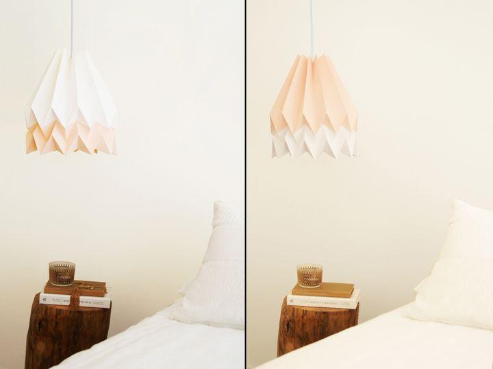 Красочные бумажные светильники Orikomi