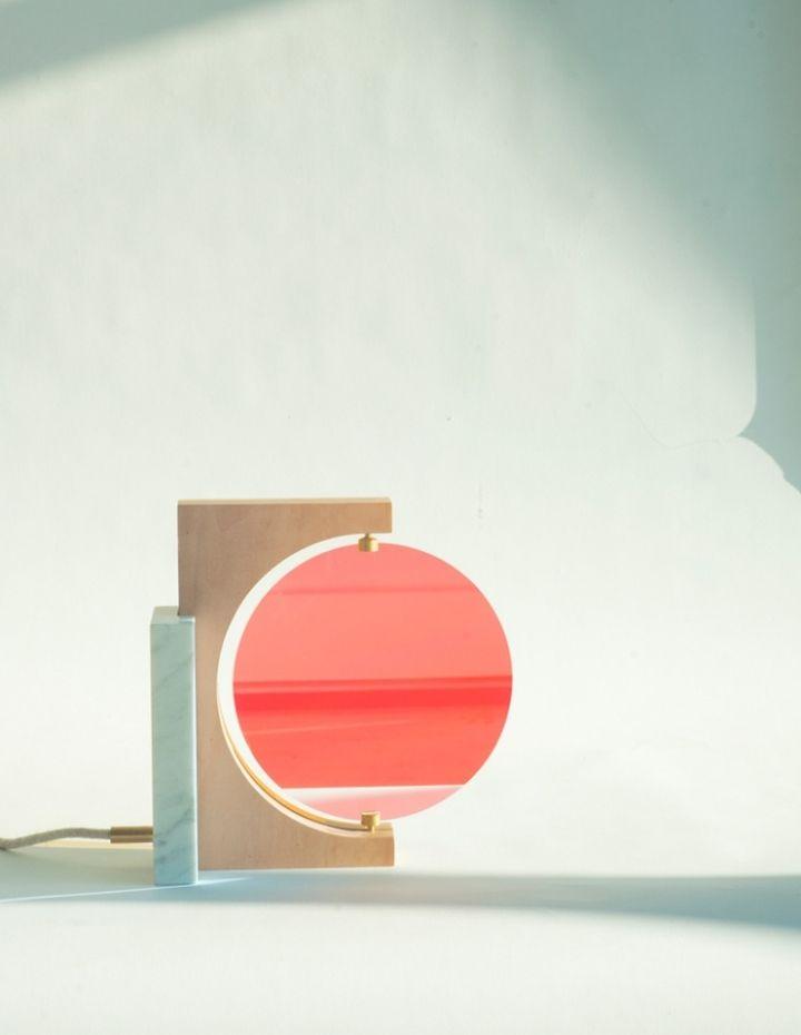 Яркая лампа Day & Night от Элеонор Делисс