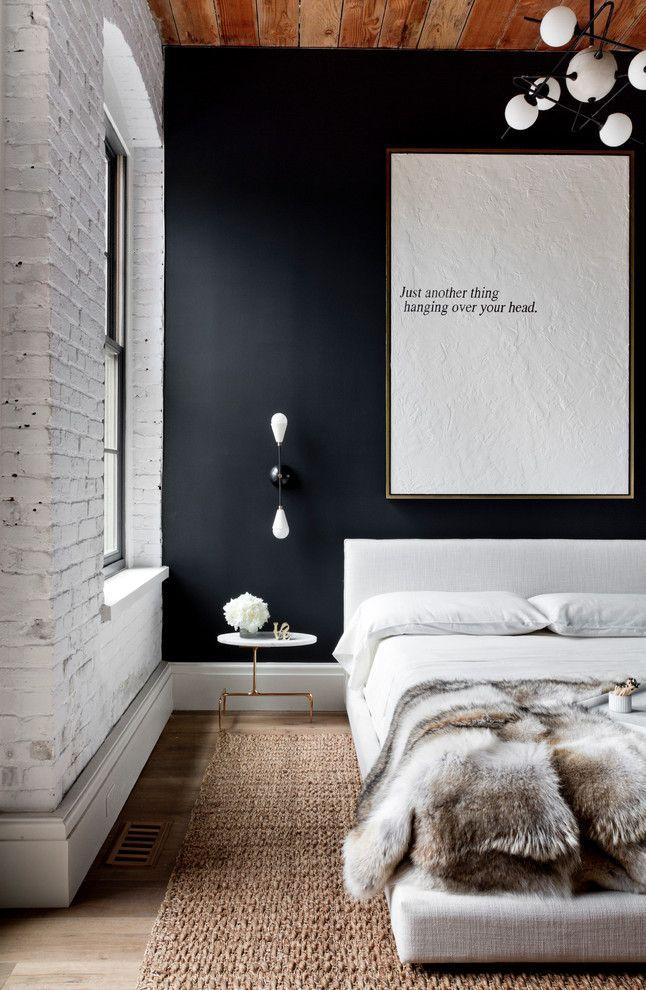 Настенные бра в интерьере спальной комнаты
