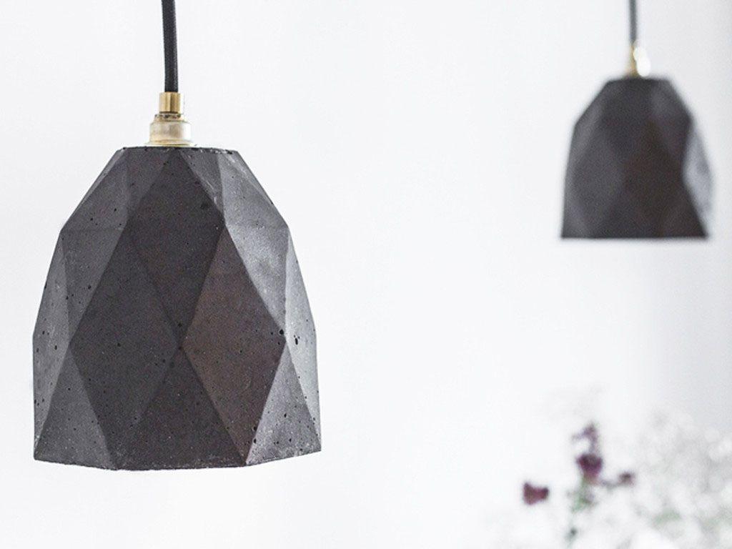 Красивые подвесные светильники Triangulate от баварского дизайнера Stefan Gant