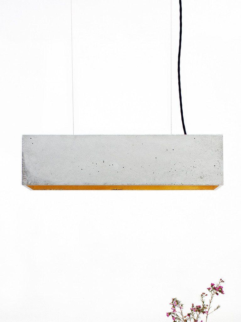 Бетонный подвесной светильник от баварского дизайнера Stefan Gant