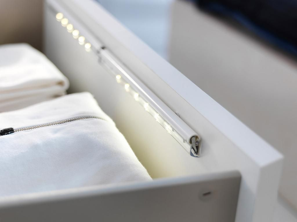 Светодиодная подсветка ящика