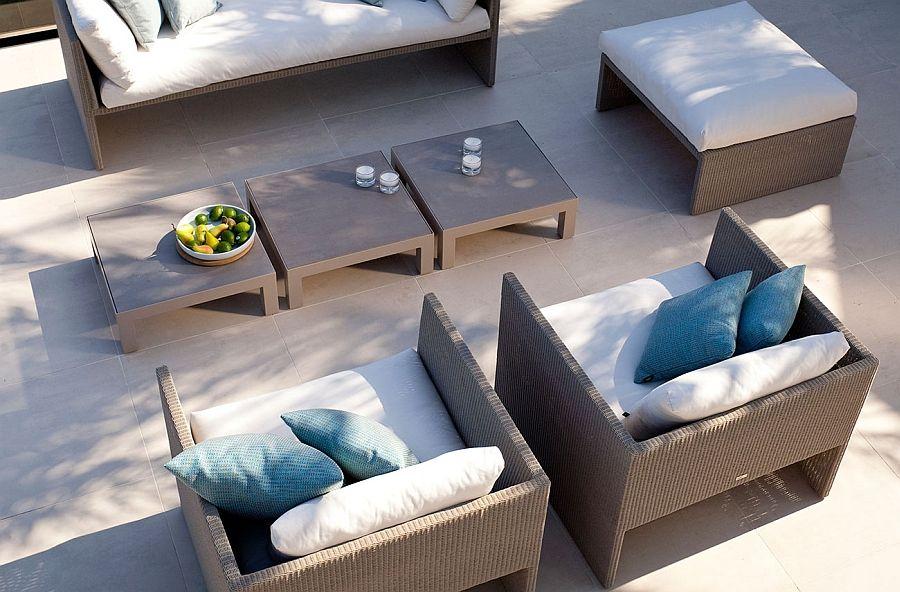 Sofaer, lenestoler og bord