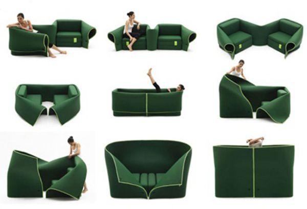 Прекрасный диван трансформер от Campeggi