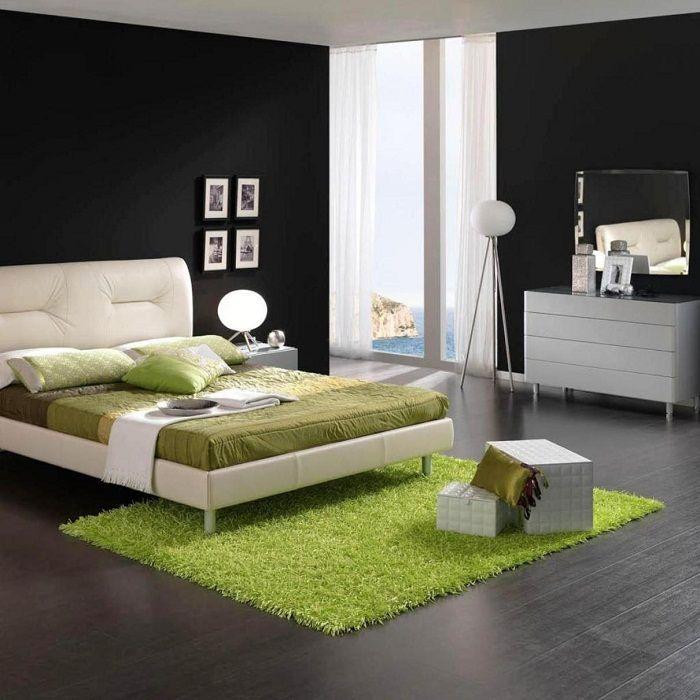 Kolorowy pokój do wypoczynku i snu.