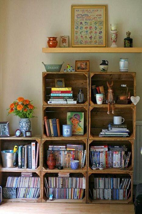 Удачный вариант создать такой крутой деревянный шкаф, своими руками.