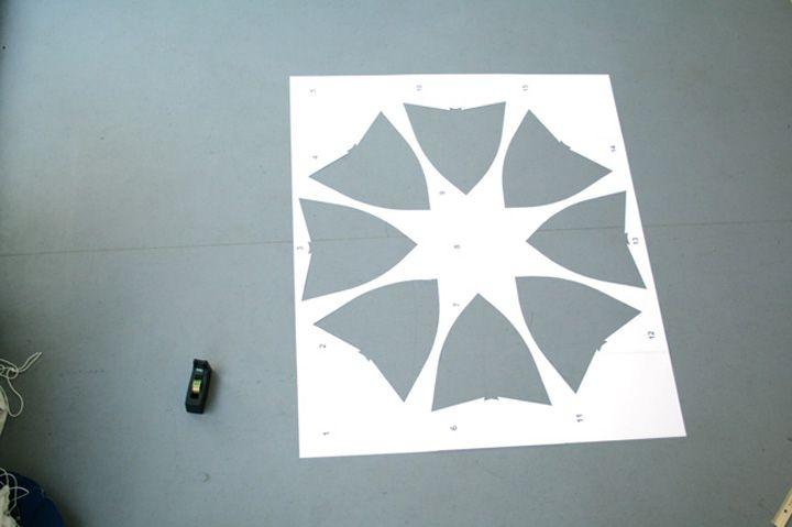Лист пластика для изготовления сиденья