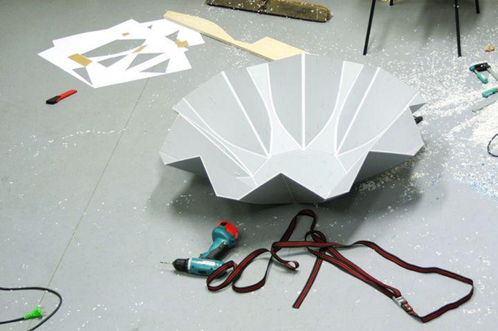 Изготовления сиденья из пластика
