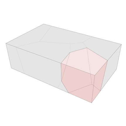 План-схема каменного стола