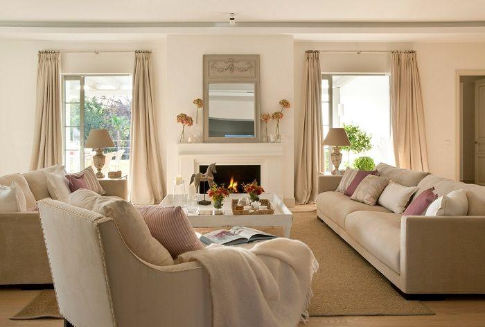 Лучшее решение удачно обустроить помещение в теплых и домашних тенденциях.