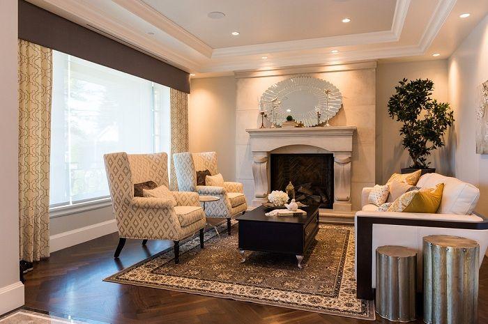 Чудный и отличный интерьер гостиной, которая станет оптимальным  решением для декора.