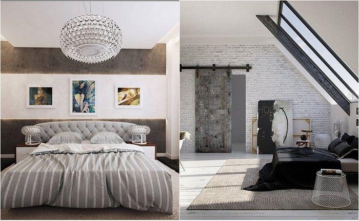 Идеи для оформления спален в современном стиле.