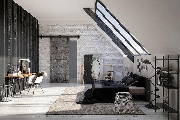 Прекрасный вариант оформления интерьера спальной что станет лучшим вариантом для преображения интерьера.