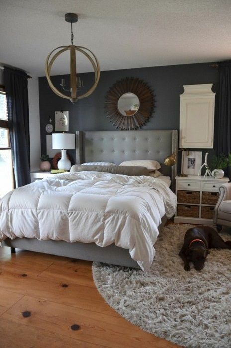 Крутой пример декорирования спальной в теплых и комфортных оттенках, что наполнит жилище уютом.