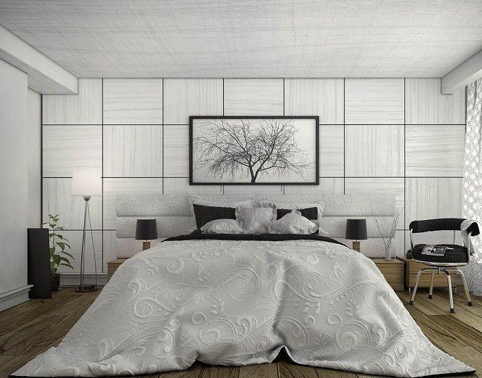 Комната для отдыха преображена за счет применения светло-серых оттенков, что вдохновит и создаст отменную обстановку.