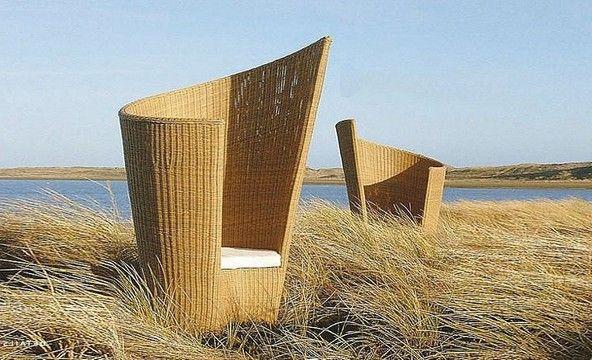 Градинско обзавеждане - оформено кресло