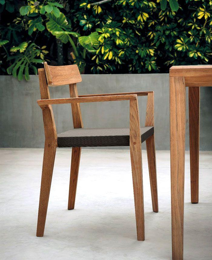 Дизайнерская деревянная уличная мебель для террас - Фото 3