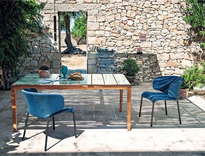 Дизайнерская деревянная уличная мебель для террас - Фото 7