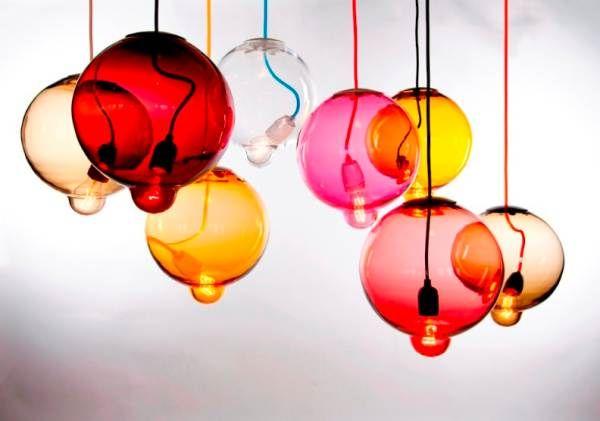 Ярки лампи с интересни форми