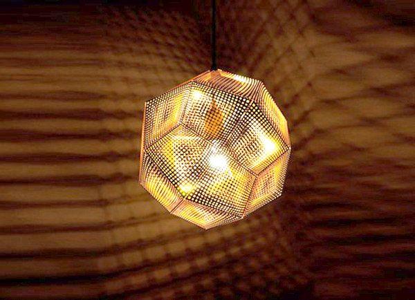 Необичайна лампа с интересна форма