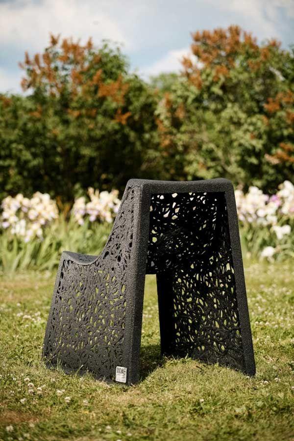 Необычный стул - вид сзади