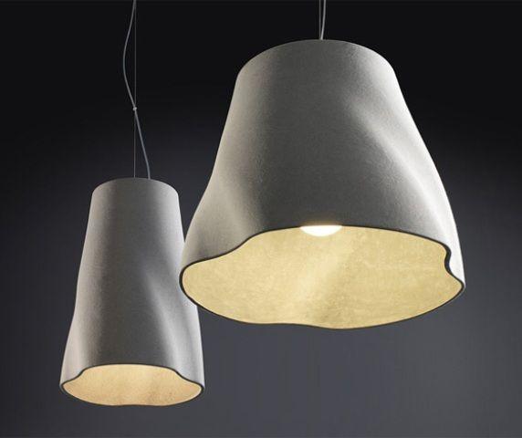 Удивительные светильник Cement Pendants от Райнера Мутча