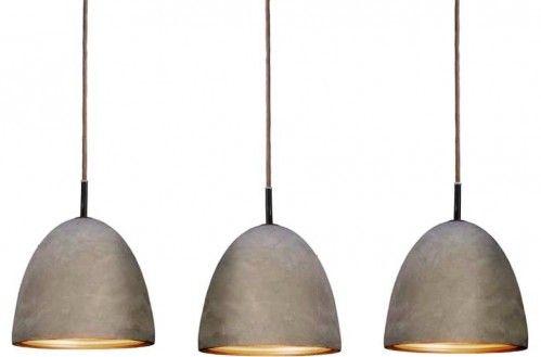 Восхитительные светильники Cement Pendants от Райнера Мутча