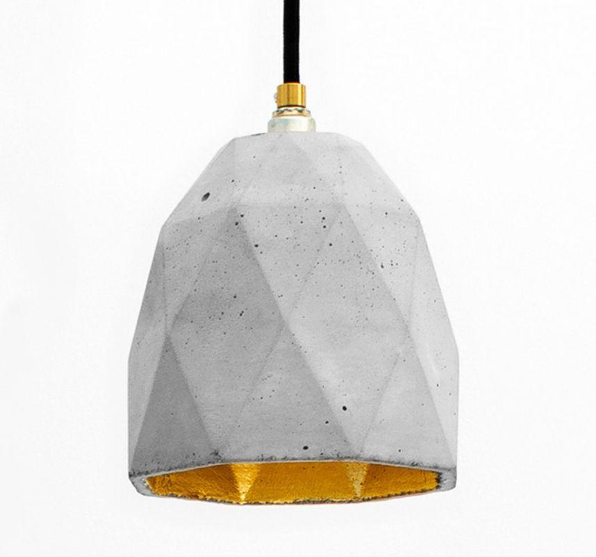 Необычный светильник Cement Pendants от Райнера Мутча