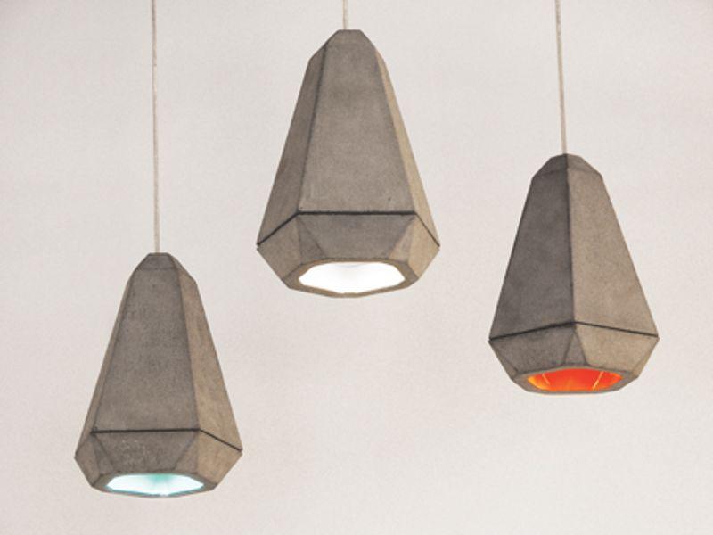Красиви циментови висулки от Rainer Mutsch