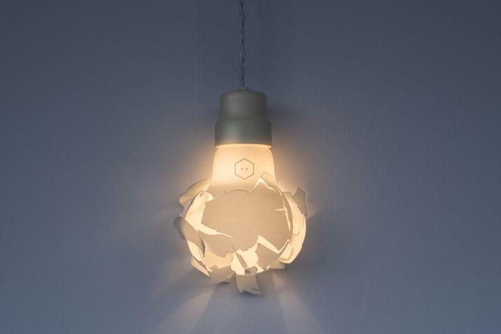 Светильник напечатанный на 3D принтере