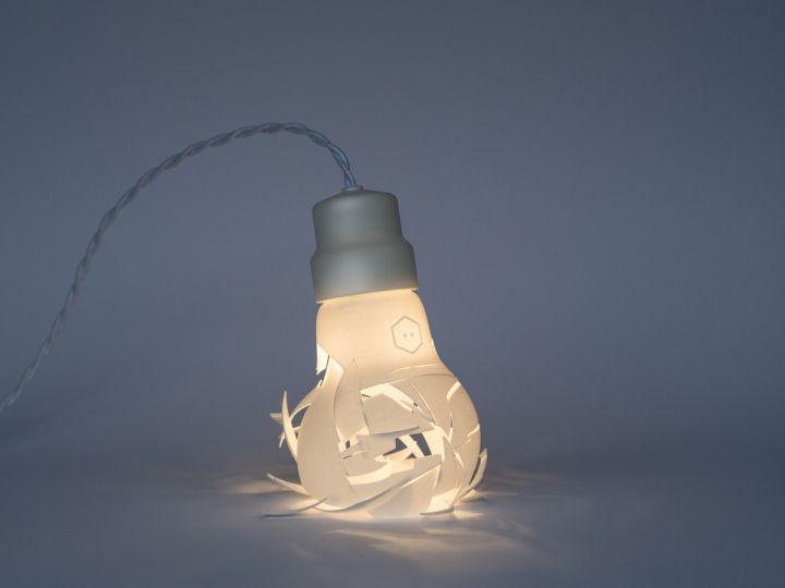 Удивительная лампа напечатанная на 3D принтере