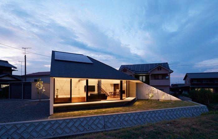Budynek mieszkalny w prefekturze Ehime (Japonia).