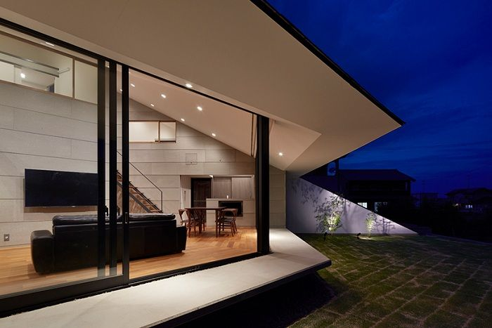 House in Shinyashiki. Терраса.